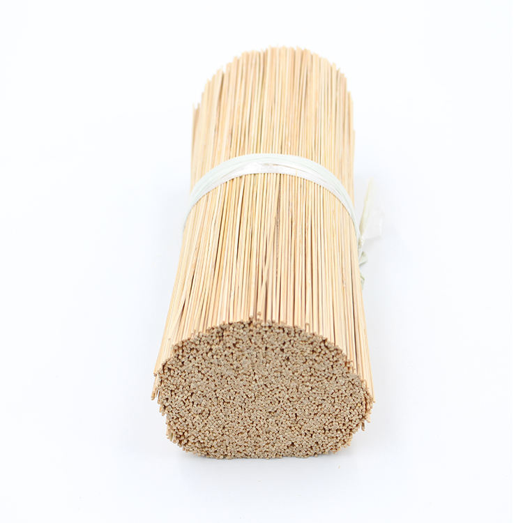 Factory direct supply bamboo raw material incense stick 9inch