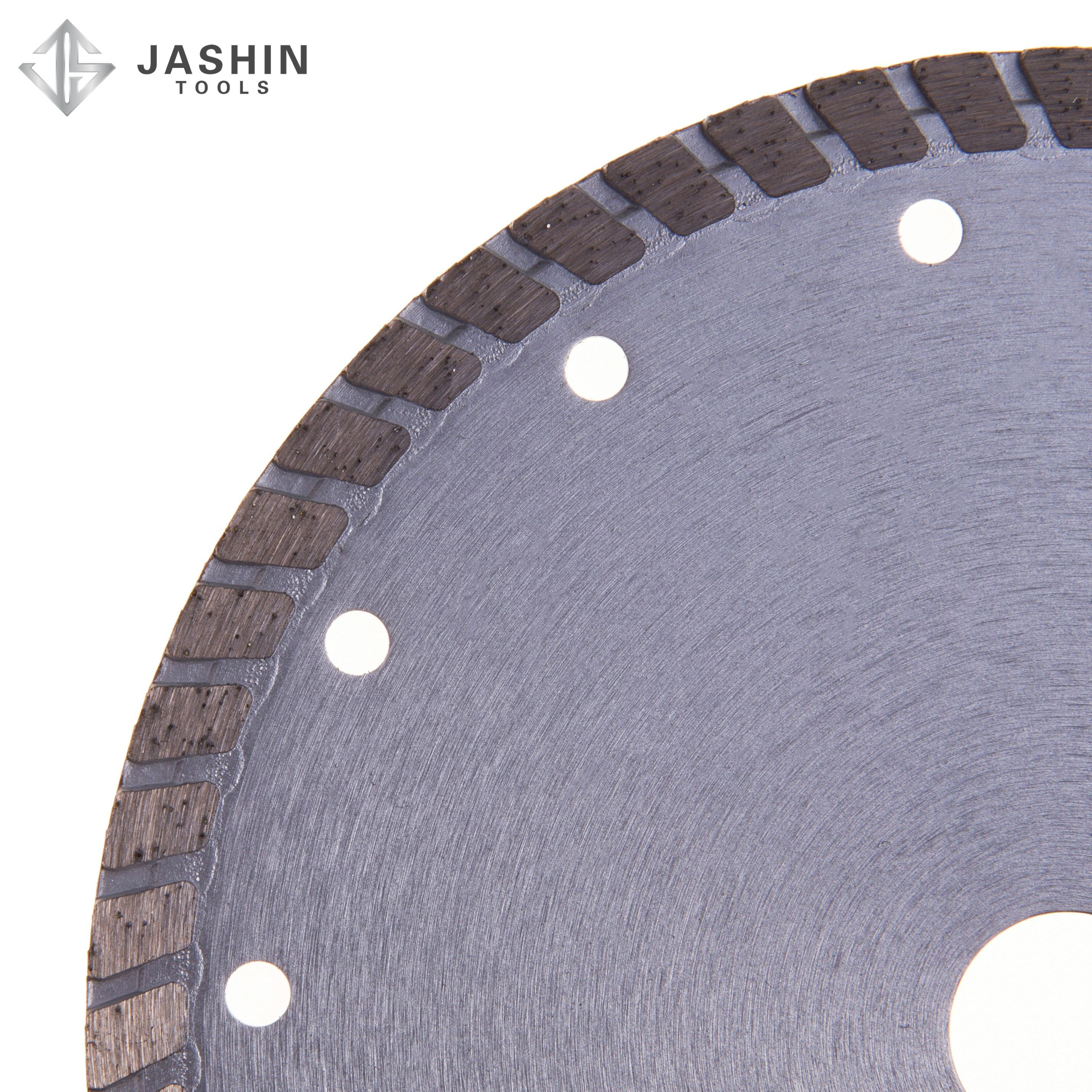 hot sale 8.0inch 200*7.5*2.6*20/22.23/25.4mm cold pressed turbo diamond saw blade for cutting Marble