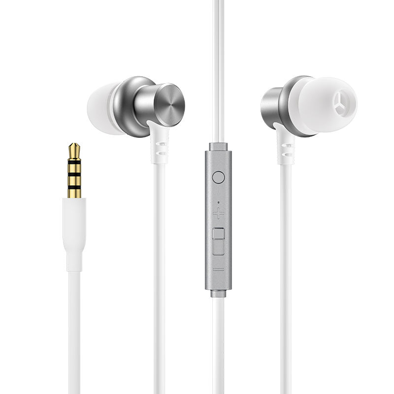 Joyroom 3.5mm jack TPE earphones headphone 1.2 M handsfree stereo in-ear wired earphone