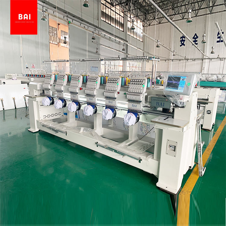 6 Head Computerized Embroidery Machine With The Best Price For Sale