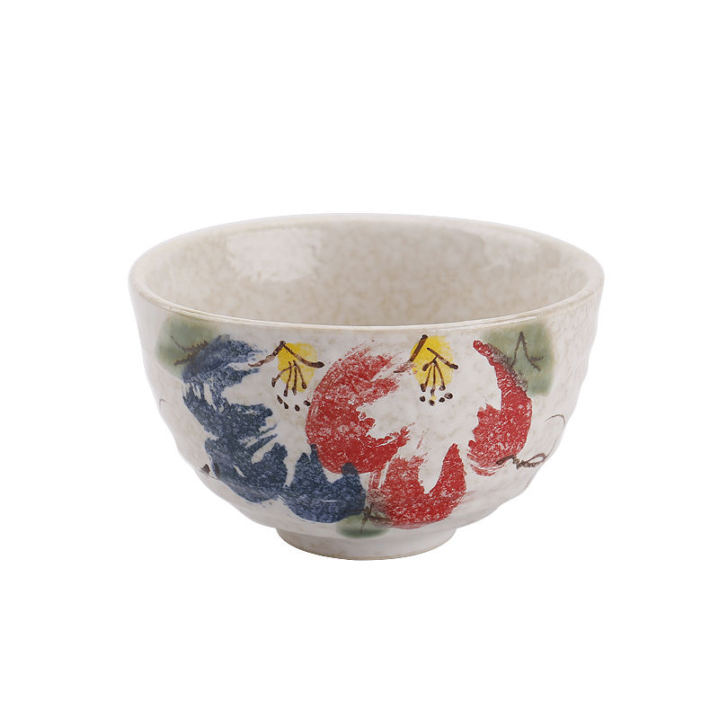 Japanese Style New design red tea bowls ceramic matcha bowl