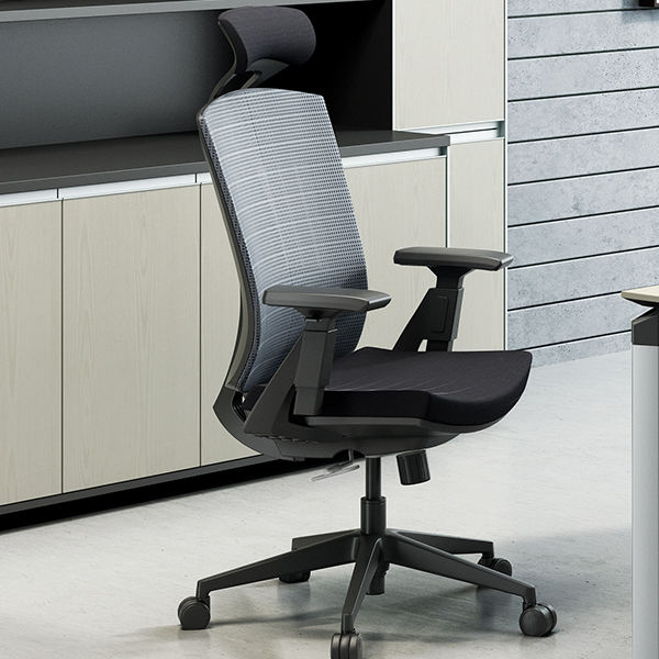 New style lift swivel chair mid-back comfortable ergonomic computer mesh swivel office chair