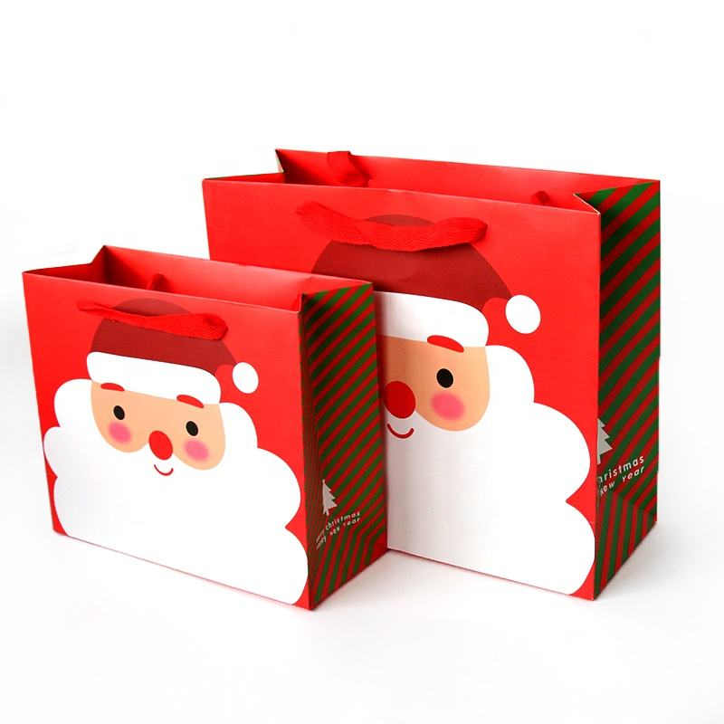 Special design new arrival funny creative christmas paper gift bag