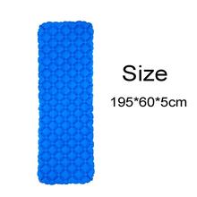 Outdoor Backpacking Single Ultralight Mat Self Inflatable Camping Sleeping Pad