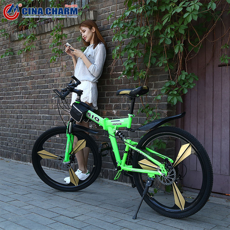 Hot sell white and purple color mountain bike with V brake