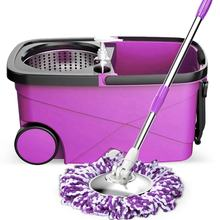 Portable 360 spin easy mop and rotation easy go mop with wheels