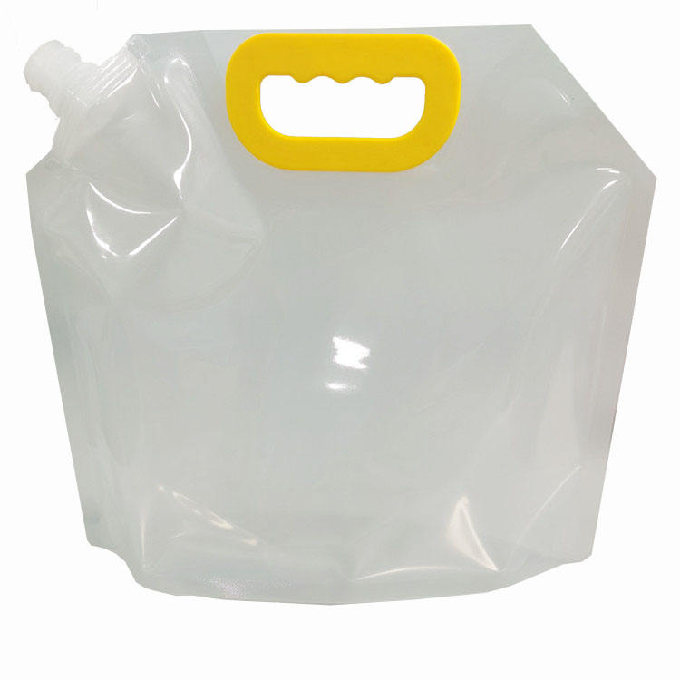 RTS 2.5L Plastic stand up drinking spout bags positive seal spout freezable perfect for any liquid spout packaging pouch
