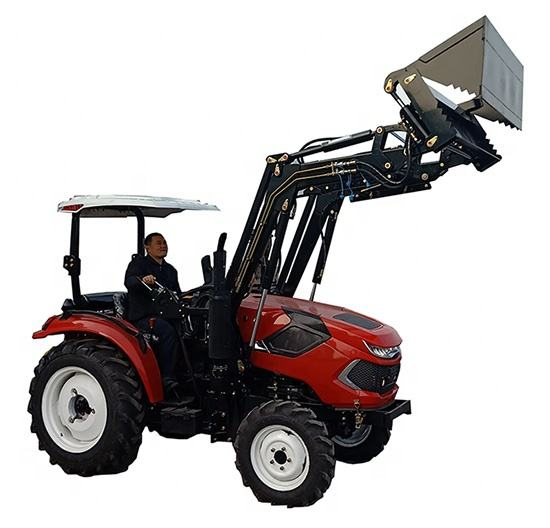 30hp 40hp 4 roues motrices tracteur avec chargeur frontal