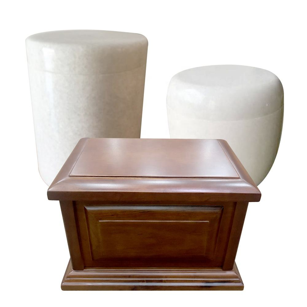 China High Quality cremation funeral urns container boxes for human ashes