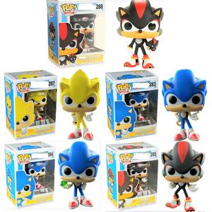 Funko Pop Super Sonic The Hedgehog Vinyl Figure Action Figurine Toy Model