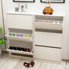 latest modern living room  wood  rotating shoe rack for shoe cupboard use
