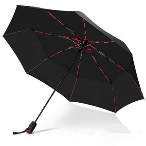 2021 new automatic umbrella with rustless fiberglass ribs