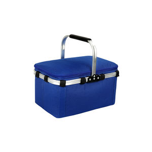Waterproof Insulated Thermal Shoulder Picnic Cooler Lunch Bag Storage Box Tote folding handle baskets