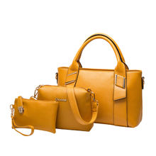 New style European and American women handbag large capacity leisure bag