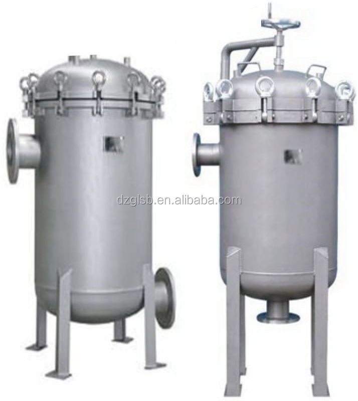 Shanghai Dazhang Jacketed Multi-Bag Heating Filter Water Filter For Chemical/Beverage Industry
