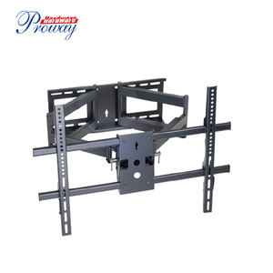 Full Motion Dual Articulating Arms Swivels Tilts Wall Mount TV Support  Max VESA 680x450mm TV Wall Mount Bracket