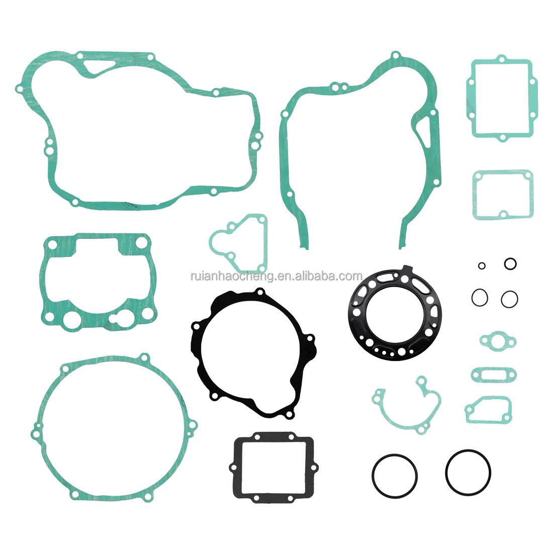 For Kawasaki High Quality Complete Engine Gasket Kit Set KX 250 [1988-1992] (18 Pcs)