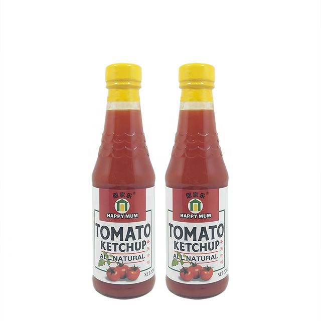 320g OEM Manufacturer Good Taste Bottle Africa Wholesale Ketchup Tomato