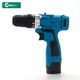 Cordless Drill Power Tools Cordless Drill Mailtank 10mm 18v 25nm Lithium Power Tools Impact Rechargeable Cordless Drill