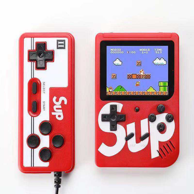Hot selling SUP 8 Bit Classic Handheld Portable Game Player With 400 Games Super Mini Video Game Console
