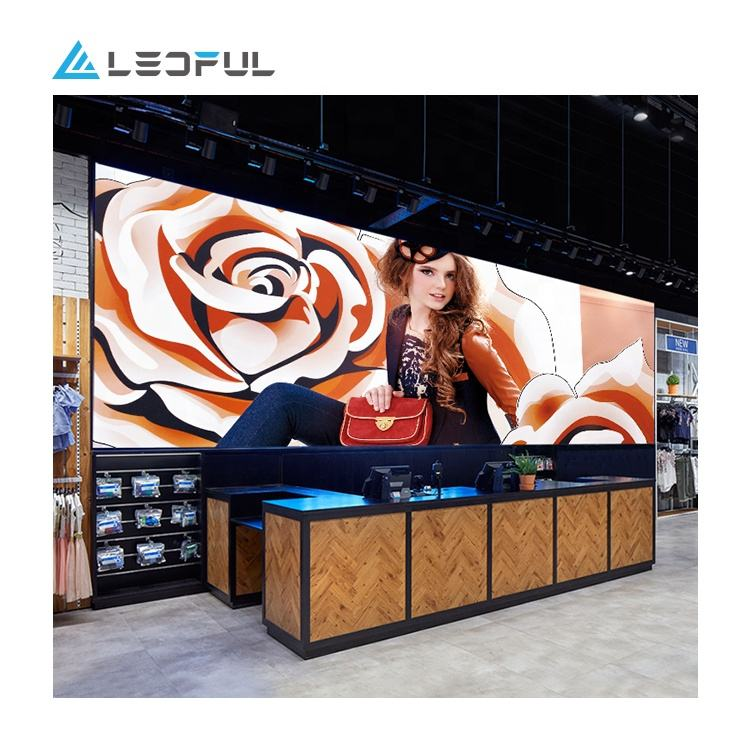 Factory Hot Sale High Resolution High Definition Front Installation Indoor advertising led wall 6mm display P2.5 video Screen