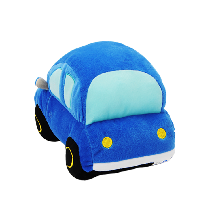 Wholesale Very Cute Plush Toy 3d For Boy Blue Mini Stuffed Toy Car