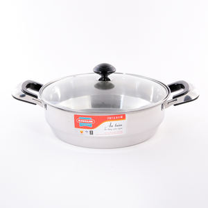 Stainless steel double bakelite handle soup pot thickened non-stick bottom hot pot (Whatsapp/ Viber: Ms Lien: +84 339 322112)