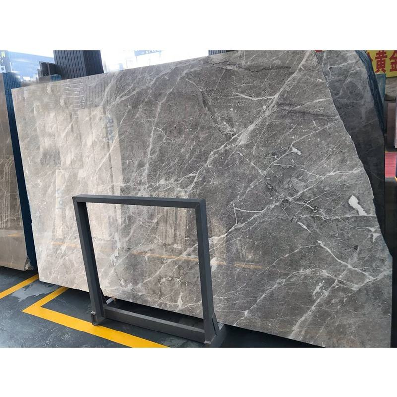 Import factory price Greece grey marble slabs for wall decoration