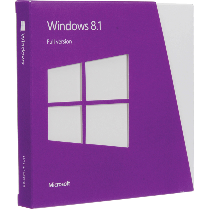 Microsoft Windows 8.1 Licentie 32/64 Bit Downloaden
