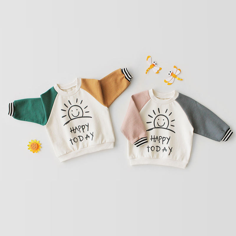 2019 Newarrival long sleeve newborn baby boy girls T-shirt