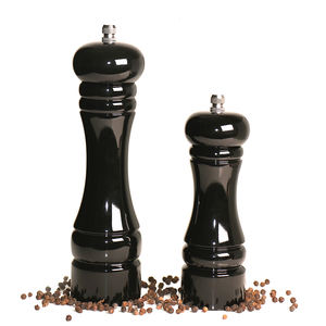 Gift Sets Zout Shaker Premium Hout Zout Peper Grinder Pu Hout Pepermolen