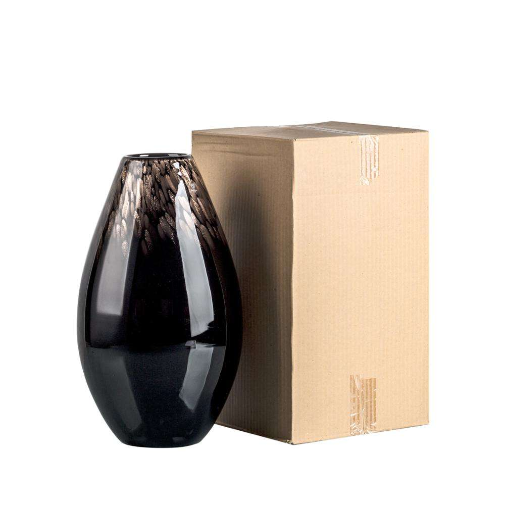 floor huge Brown Glass Vases