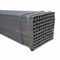 A179-a 80*60mm Black Metal Iron Steel Rectangular Hollow Section Tubes