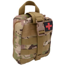 high quality tactical first aid fanny pack kit with custom supplies