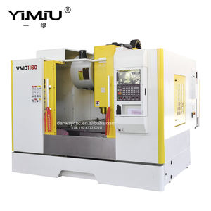 China multifunction cnc machine tool 4-axis VMC1160 vertical machining center Fanuc system 4 axis cnc milling machine
