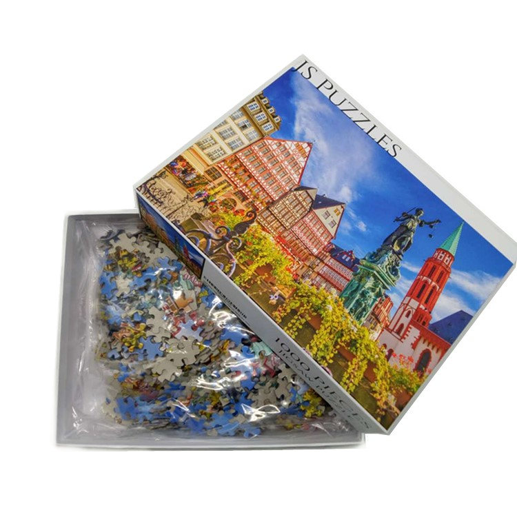 Hot Sale Puzzle 1000 High Quality Custom Puzzle 1000 Pieces Jigsaw Puzzle For Adults