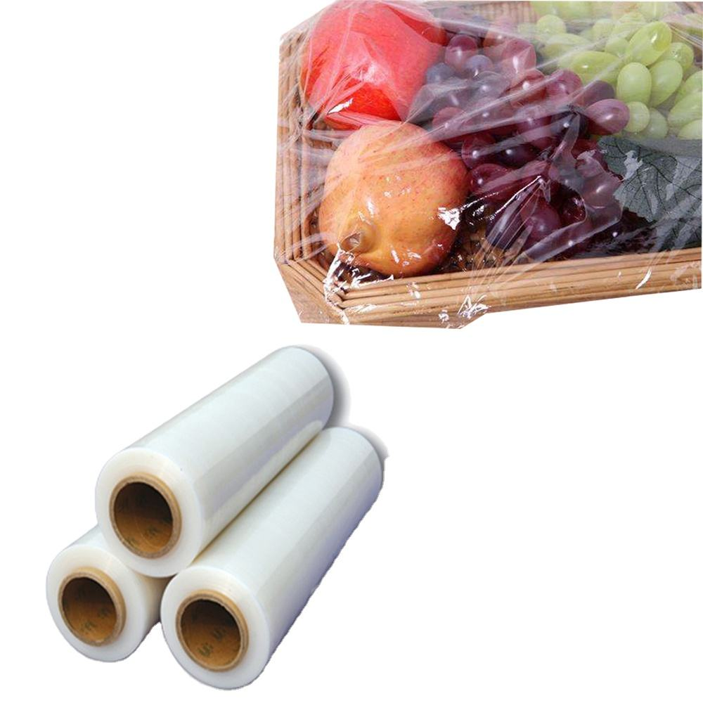 Food service plastic pla 100% biodegradable food packaging fresh wrap cling film