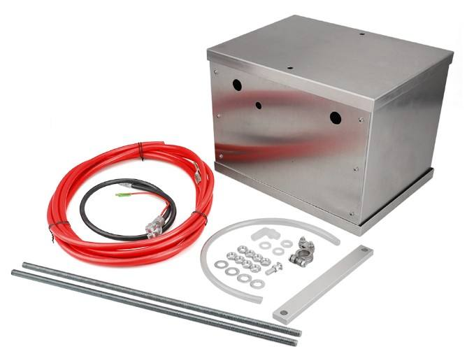 highest quality Complete Aluminum Battery Box Relocation Kit Universal Billet Race Off Road Kit BBRK-01