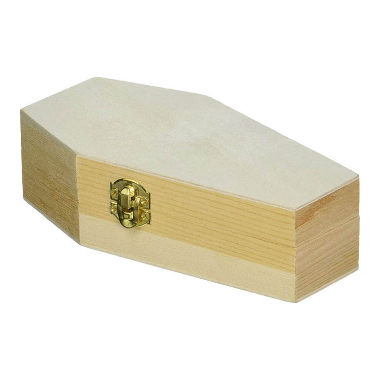 Mini Halloween Holz <span class=keywords><strong>Sarg</strong></span> Box Günstige Unfinished Holz <span class=keywords><strong>Sarg</strong></span> Ring Box