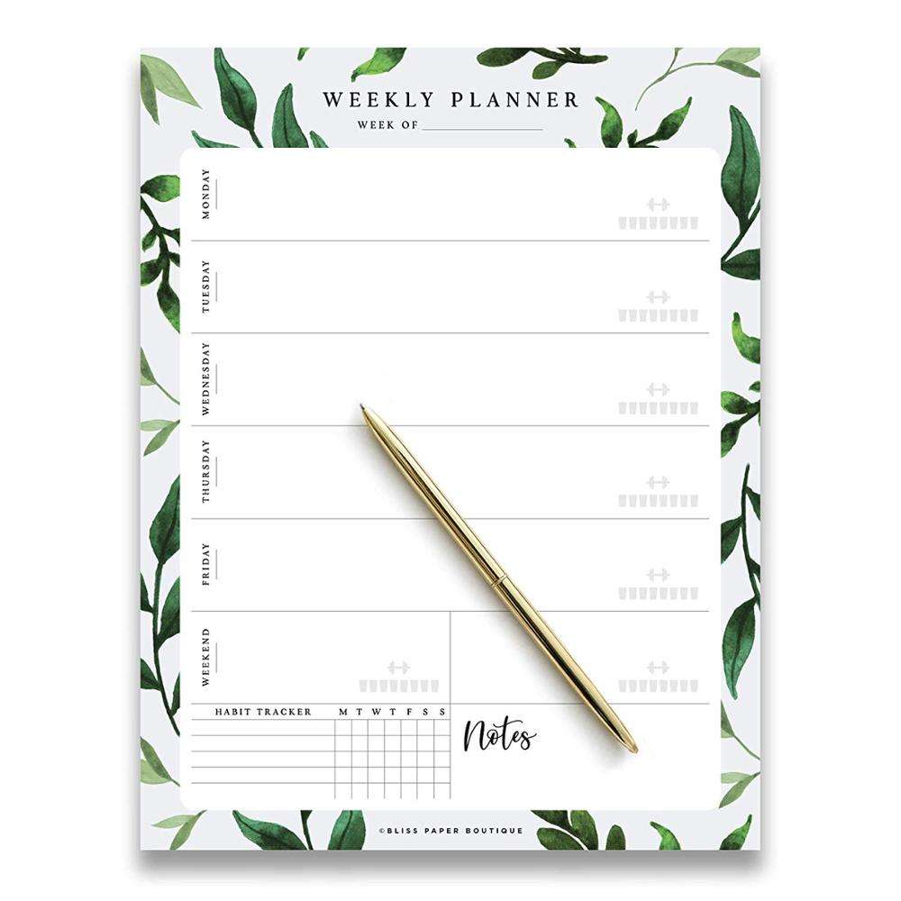 Myway Family Life Personal Schedule Tear Off Sheets Sticky Notepads Custom Logo Printed