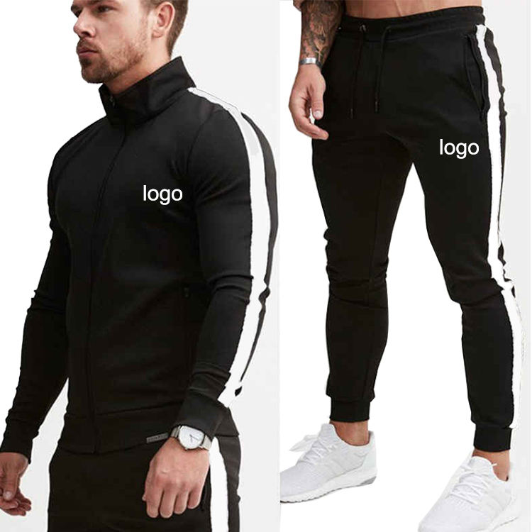 Factory Wholesale Customized Design Sport Tracksuit Wear Mens Design Your Own Soccer Tracksuit