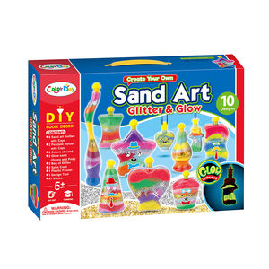 Creative Kids DIY Super Sand Art Activity Kit for Kids Create Your Own Crafts