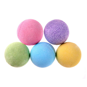 N321Custom Color Salt Body Bath Ball Essential Oil Natural Bubble Ease Relax Stress Relief Body Skin Whitening Shower Bath Bombs