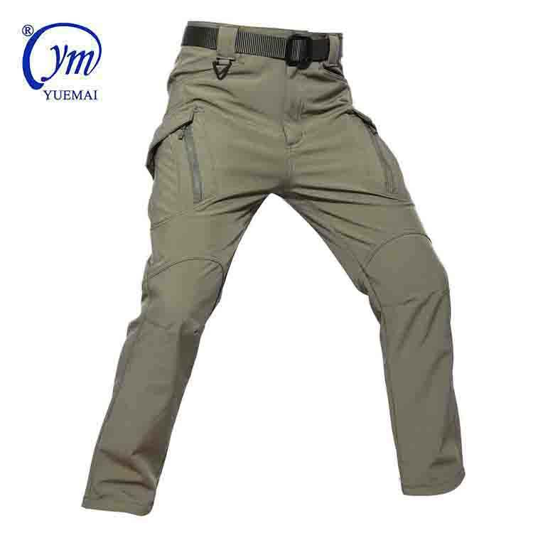 Tactical Pants Wholesale Mens Customized Outdoor Soft Shell Army Tactical Military Pants