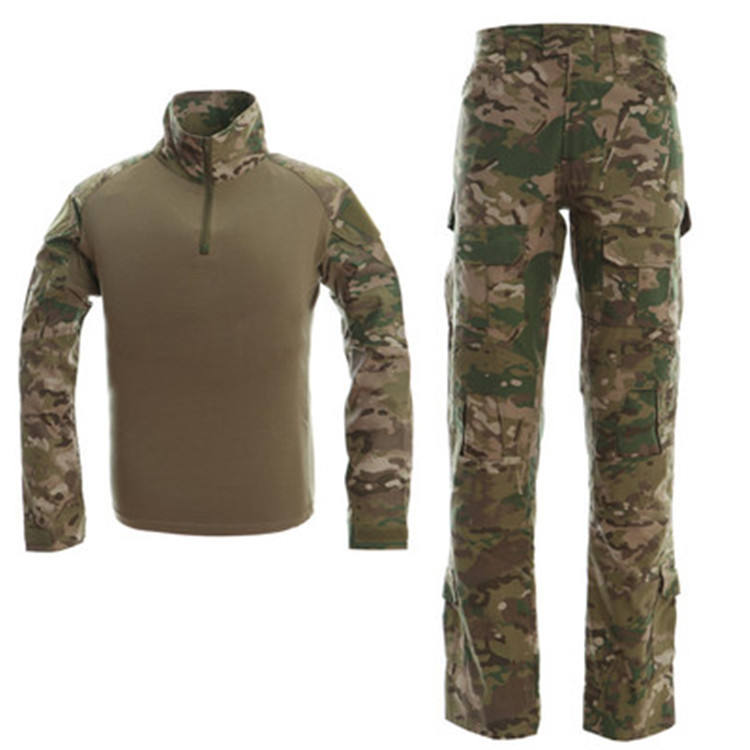 Wholesale Camouflage Shirt Hunting Camouflage Clothing Tactical Military Uniforms Army Coverall