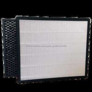 Büyük fowl kapasiteli panel filtre aktif karbon hepa filtre kutusu kaynağı kabin hepa filtre özel