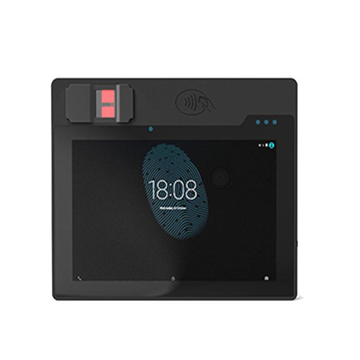 Soporte de tableta biométrica industrial FOTA con reconocimiento facial para la gestión de la fuerza laboral