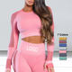 Yoga Tracksuit Slim Fitness Clothes For Women Camouflage Bodysuit Sexy Bandage Sport Tracksuit Yoga Tops Woman Sport Top