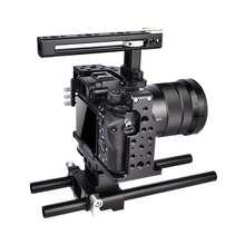 Professional camera photography aid DSLR camera cage kit