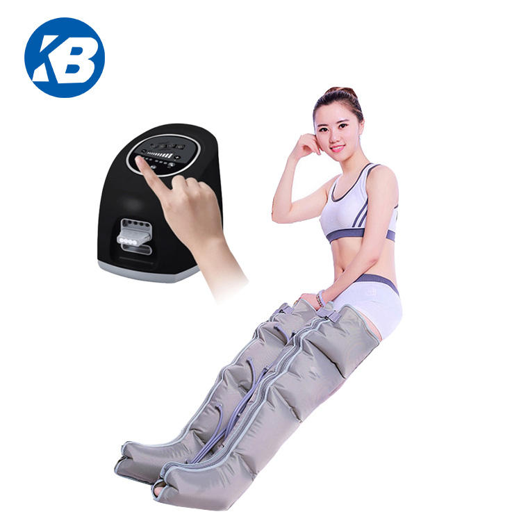 Medical use detox pressotherapy 4 chamber air compression leg massager recovery machine